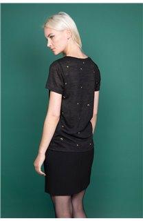 T-Shirt T-Shirt MARCIA Femme W19123W (47669) - DEELUXE