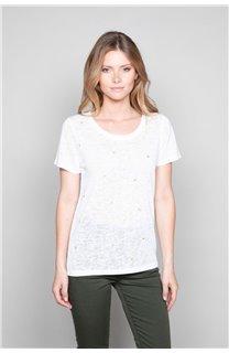 T-Shirt T-Shirt MARCIA Femme W19123W (47671) - DEELUXE