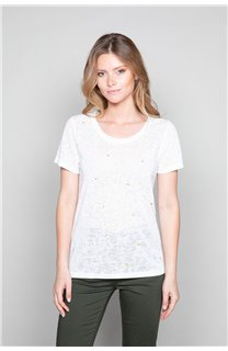 T-Shirt T-Shirt MARCIA Femme W19123W (47673) - DEELUXE
