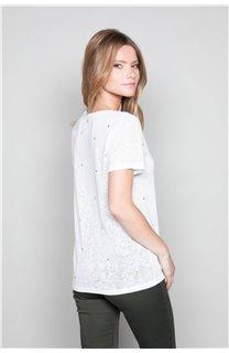 T-Shirt T-Shirt MARCIA Femme W19123W (47674) - DEELUXE