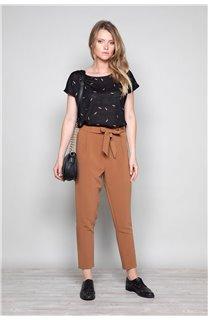 T-Shirt T-Shirt PLUME Femme W19124W (47677) - DEELUXE