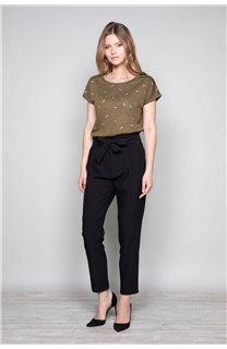 T-Shirt T-Shirt PLUME Femme W19124W (47682) - DEELUXE