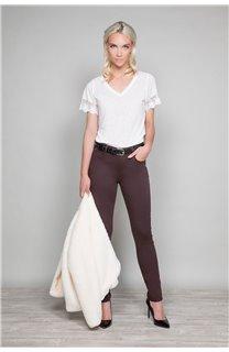 Pantalon PANTALON PONY Femme W19732W (47727) - DEELUXE