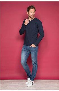 T-Shirt CHANGER Homme W19161 (47820) - DEELUXE