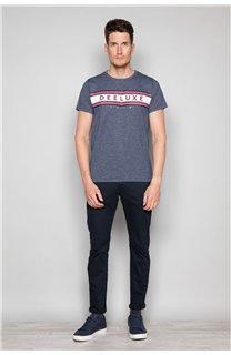 T-Shirt T-SHIRT PAZZY Homme W19114 (47830) - DEELUXE