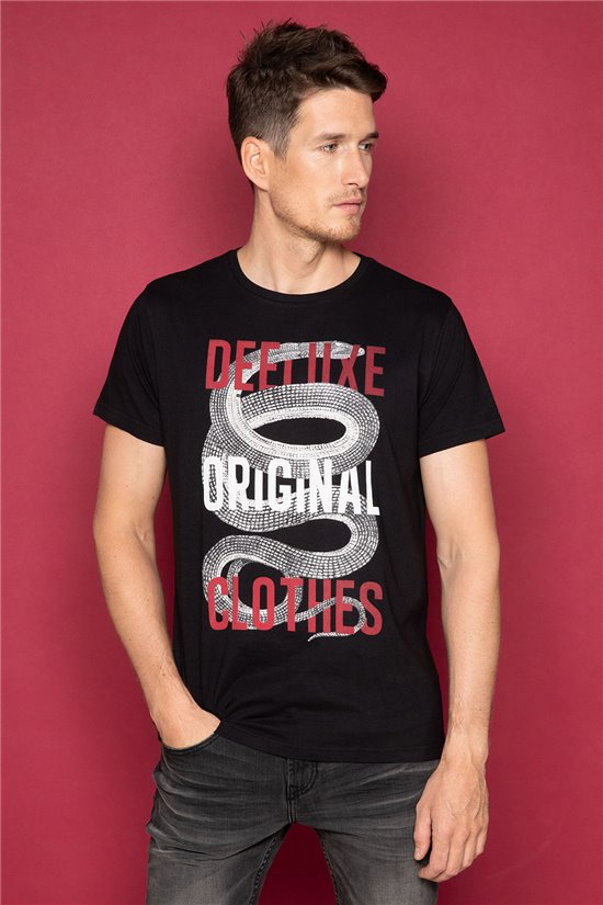 T-shirt SNAKE Homme Deeluxe