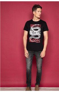 T-Shirt T-SHIRT SNAKE Homme W19120 (47836) - DEELUXE