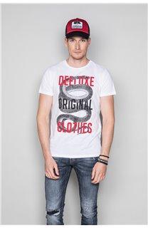 T-Shirt T-SHIRT SNAKE Homme W19120 (47841) - DEELUXE