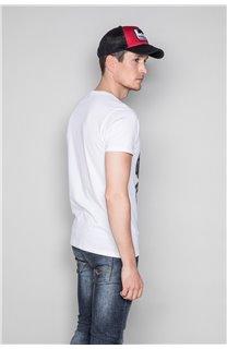 T-Shirt T-SHIRT SNAKE Homme W19120 (47842) - DEELUXE