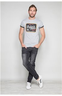 T-Shirt T-SHIRT VERNON Homme W19116 (47844) - DEELUXE