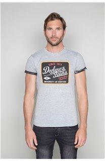 T-Shirt T-SHIRT VERNON Homme W19116 (47845) - DEELUXE