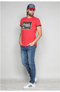 T-Shirt T-SHIRT VERNON Homme W19116 (47849) - DEELUXE