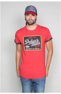 T-Shirt T-SHIRT VERNON Homme W19116 (47850) - DEELUXE
