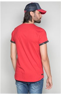 T-Shirt T-SHIRT VERNON Homme W19116 (47851) - DEELUXE