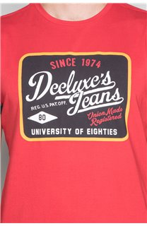T-Shirt T-SHIRT VERNON Homme W19116 (47852) - DEELUXE