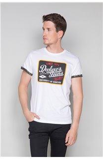 T-Shirt T-SHIRT VERNON Homme W19116 (47853) - DEELUXE