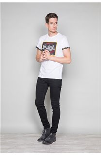 T-Shirt T-SHIRT VERNON Homme W19116 (47854) - DEELUXE