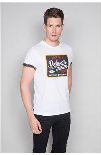 T-Shirt T-SHIRT VERNON Homme W19116 (47855) - DEELUXE
