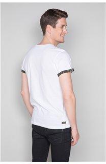 T-Shirt T-SHIRT VERNON Homme W19116 (47856) - DEELUXE