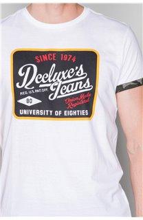 T-Shirt T-SHIRT VERNON Homme W19116 (47857) - DEELUXE