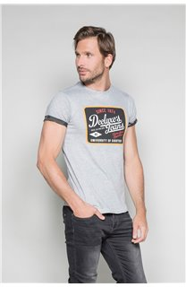 T-Shirt T-SHIRT VERNON Homme W19116 (47858) - DEELUXE