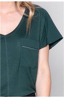 T-Shirt T-Shirt AMY Femme W19102W (47870) - DEELUXE
