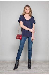 T-Shirt T-Shirt AMY Femme W19102W (47872) - DEELUXE