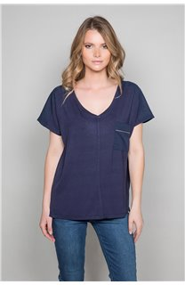 T-Shirt T-Shirt AMY Femme W19102W (47873) - DEELUXE