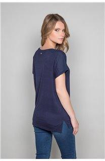 T-Shirt T-Shirt AMY Femme W19102W (47874) - DEELUXE