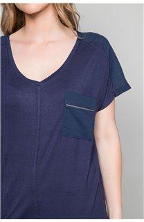 T-Shirt T-Shirt AMY Femme W19102W (47875) - DEELUXE