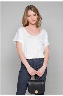 T-Shirt T-Shirt AMY Femme W19102W (47876) - DEELUXE