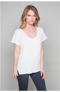 T-Shirt T-Shirt AMY Femme W19102W (47878) - DEELUXE