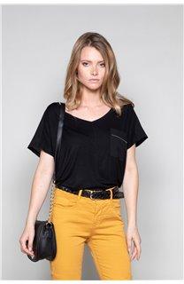 T-Shirt T-Shirt AMY Femme W19102W (47881) - DEELUXE