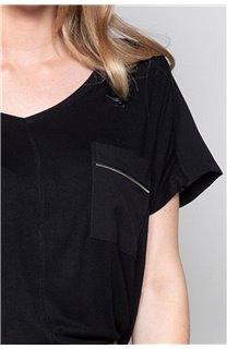 T-Shirt T-Shirt AMY Femme W19102W (47882) - DEELUXE