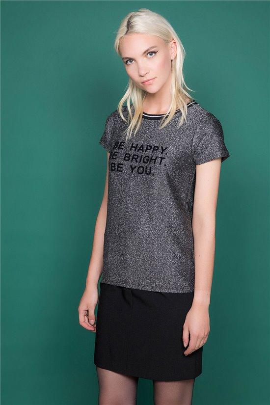T-Shirt JANETTE Femme W19107W (47903) - DEELUXE