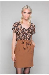 T-Shirt MACHA Femme W19110W (47908) - DEELUXE