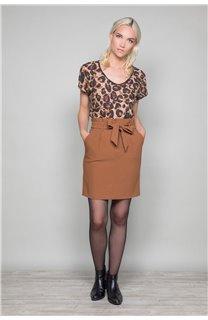 T-Shirt MACHA Femme W19110W (47909) - DEELUXE