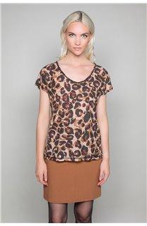 T-Shirt MACHA Femme W19110W (47910) - DEELUXE