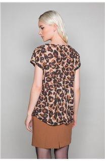 T-Shirt MACHA Femme W19110W (47911) - DEELUXE