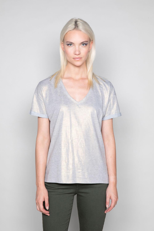 T-Shirt T-Shirt STAR Femme W19114W (47913) - DEELUXE