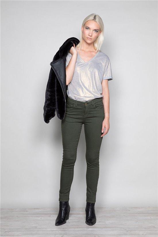 T-Shirt STAR Femme W19114W (47913) - DEELUXE