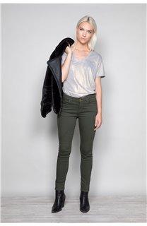 T-Shirt T-Shirt STAR Femme W19114W (47914) - DEELUXE