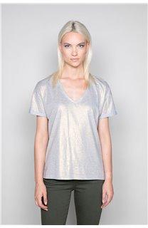 T-Shirt T-Shirt STAR Femme W19114W (47915) - DEELUXE