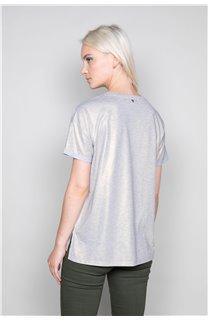 T-Shirt T-Shirt STAR Femme W19114W (47916) - DEELUXE