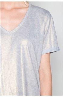 T-Shirt T-Shirt STAR Femme W19114W (47917) - DEELUXE