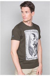T-Shirt T-SHIRT DENIL Homme P197 (47918) - DEELUXE