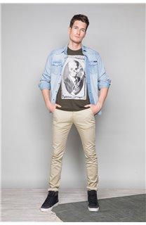T-Shirt T-SHIRT DENIL Homme P197 (47919) - DEELUXE