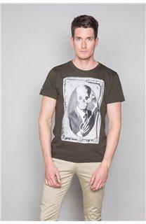 T-Shirt T-SHIRT DENIL Homme P197 (47920) - DEELUXE