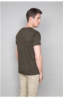 T-Shirt T-SHIRT DENIL Homme P197 (47921) - DEELUXE