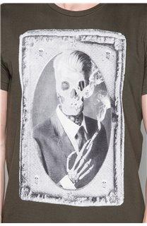 T-Shirt T-SHIRT DENIL Homme P197 (47922) - DEELUXE